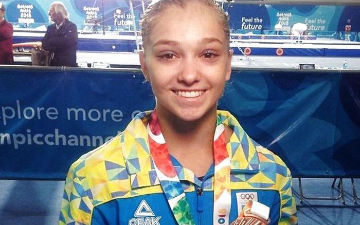 15-річна тернополянка стала призеркою юнацьких Олімпійських ігор