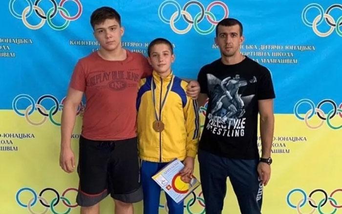 Тернополянин став чемпіоном Всеукраїнських змагань з греко-римської боротьби