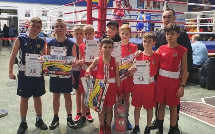 Тернополяни перемогли на Всеукраїнському турнірі з боксу