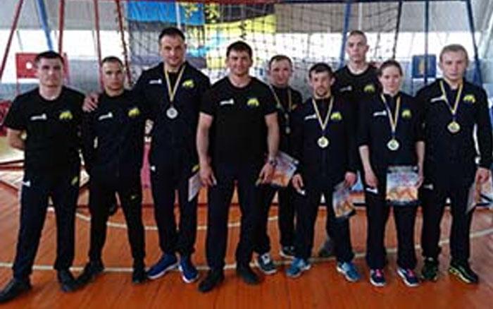 На чемпіонаті України з універсального бою збірна області завоювала вісім медалей