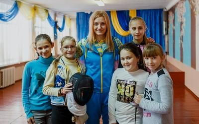 Учасниця Олімпіади Оленка Кривицька  поділилася секретом успіху з дітьми (ФОТО)