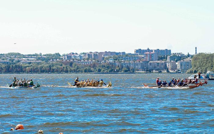 У Тернополі відбудуться змагання з веслування на драгоботах