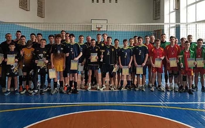 Чемпіонат Тернопільської області з волейболу серед юнаків 2005 р.н. виграли спортсмени з Теребовлі