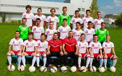 Тернополяни вперше стартують у юніорському чемпіонаті з футболу