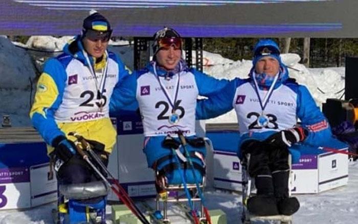 Тарас Радь здобув дві срібні та одну бронзову медалі на Кубку Світу з лижних перегонів та біатлону у Фінляндії