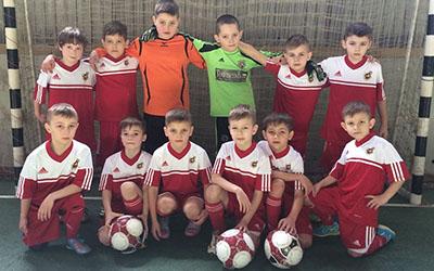 Юні футболісти