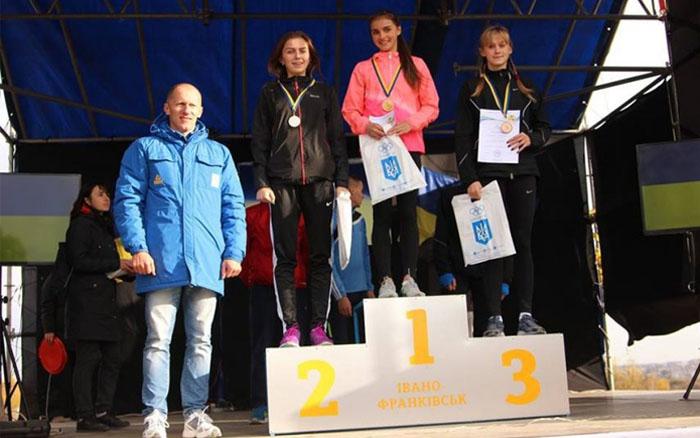 Команда Тернопільської ОДЮСШ – бронзовий призер чемпіонату України з легкоатлетичного кросу