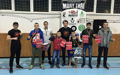 Тернопільські тайські боксери завоювали