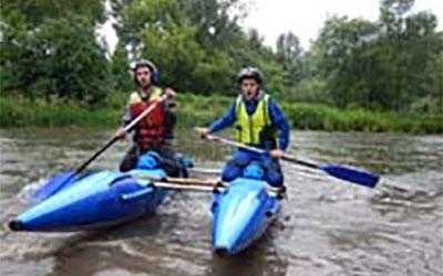 На Тернопіллі провели змагання з водного туризму