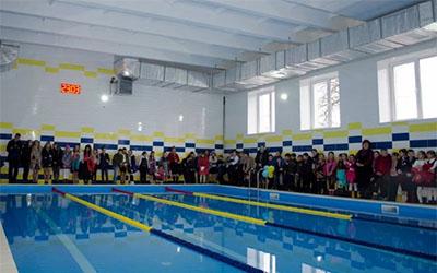 В Козові відкрили басейн, який розпочали будувати ще 30 років тому
