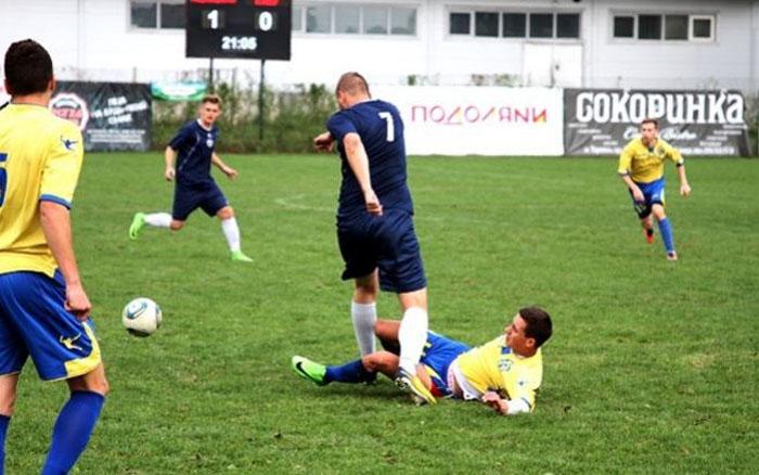 Дві команди з Тернопільщини розпочали виступи у студентській лізі з футболу