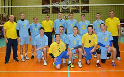 Тернопільські волейболісти захищають честь України у Латвії