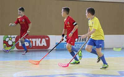 У Тернополі відбудеться третій тур регулярного чемпіонату України з флорболу серед юніорів до 12 років