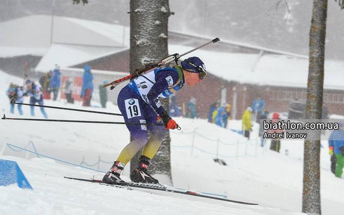Меркушина 50-а у персьюті на дев'ятому етапі Кубку світу з біатлону