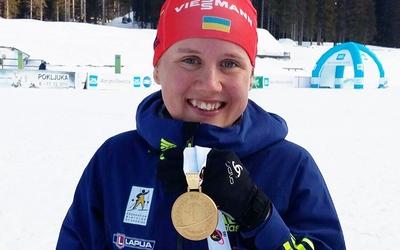Тернопільська біатлоністка Анастасія Меркушина поділилася секретами успіху (ВІДЕО)