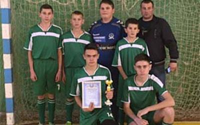 На Теребовлянщині відбулись змагання з футзалу серед юнаків серед ЗОШ І-ІІІ ступенів