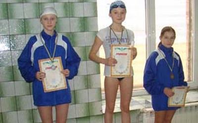 На регіональному турнірі з плавання