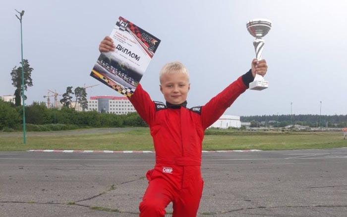 Чортків'янин Едуард Петришак – призер ІІ етапу Кубку України з картингу