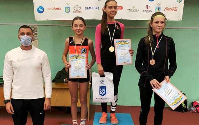 Спортсменка з Тернопільщини здобула призове місце на Всеукраїнських змаганнях