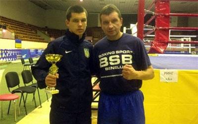 Віктор Петров став кращим боксером Кубка України