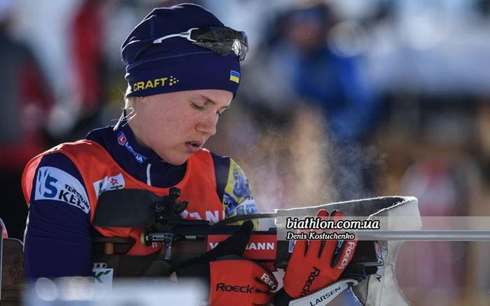 Підгрушна і Меркушина потрапили в ТОП-15 в спринті на Кубку світ