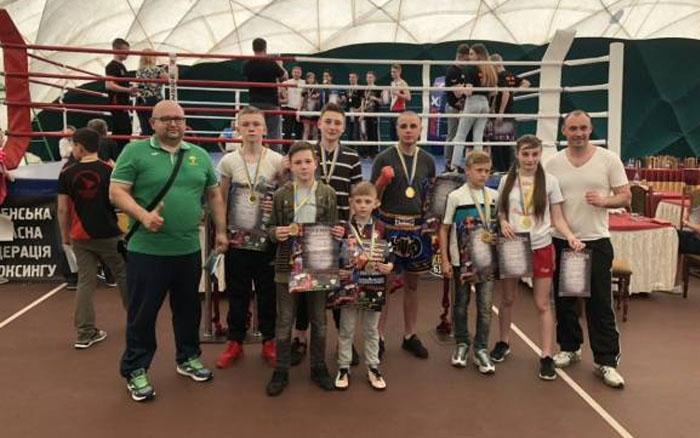 Тернополяни – переможці шкільного чемпіонату України з кікбоксингу