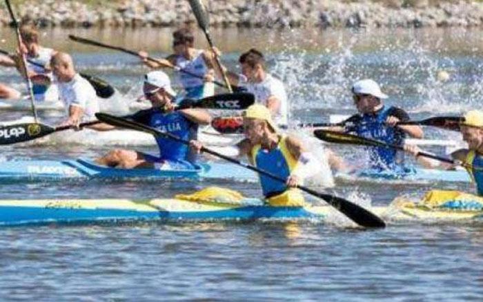 Тернопільські веслувальники перемогли на командному чемпіонаті України