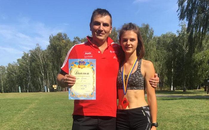 Тернопільська спортсменка Діана Дуда – бронзова призерка чемпіонату України з лижних гонок