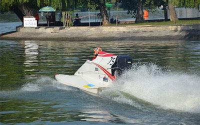 На водно-моторному фестивалі у Тернополі пілоти провели перші старти(ВІДЕО)
