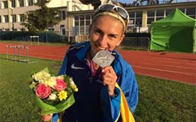 Наталя Стребкова стала срібною призеркою чемпіонату Європи з легкої атлетики серед молоді