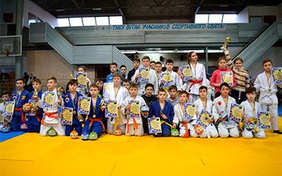 На базі ТНЕУ відбувся Відкритий чемпіонат з дзюдо м. Тернопіль серед юнаків та дівчат
