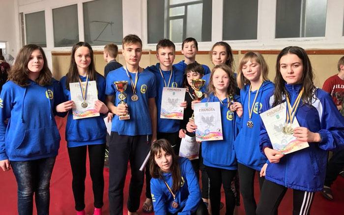 Тернопільські плавці вибороли 30 нагород на Всеукраїнському турнірі