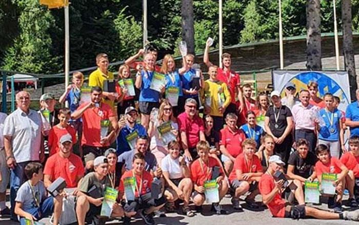 У Кременці відбулись всеукраїнські та міжнародні змагання із санного спорту