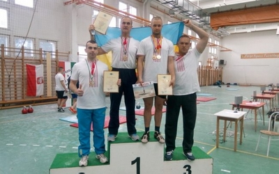Збаражани – переможці чемпіонату Європи з гирьового спорту