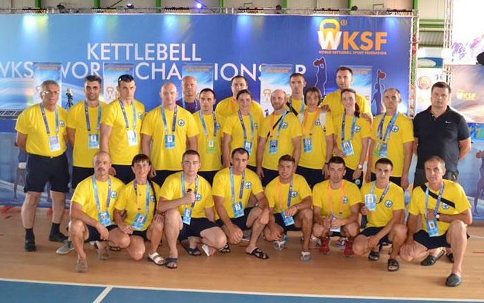 Представники Тернопільщини вдало виступили на Чемпіонаті світу з гирьового спорту