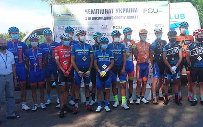 Бронзову та 8 срібних медалей здобули тернопільські велосипедисти на чемпіонаті України