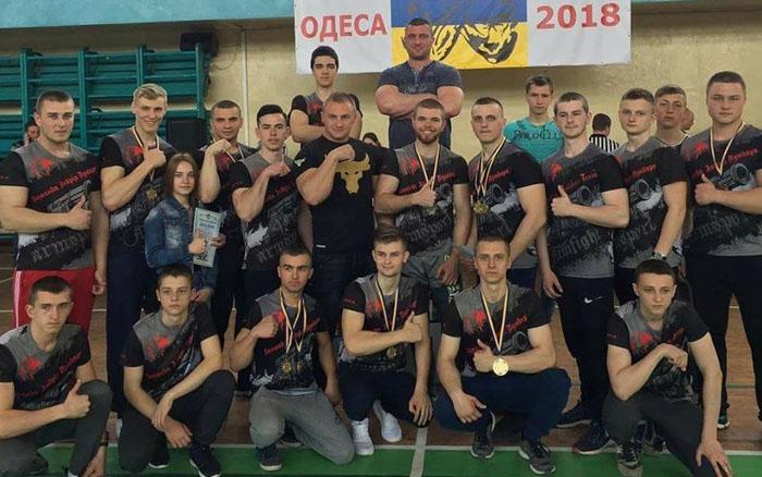 Тернопільські армрестлери завоювали 17 медалей на чемпіонату України