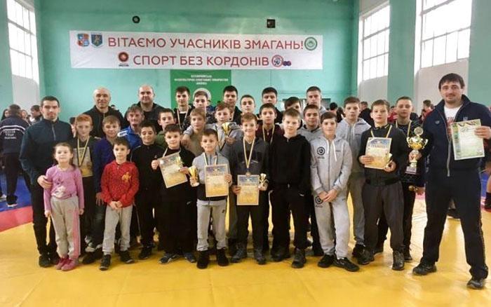 Тернопільські борці стали переможцями Міжнародного турніру на Закарпатті