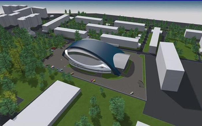 У Тернополі виготовляють документацію на будівництво Палацу спорту