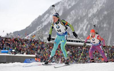 Анастасія Меркушина — 10-та у спринті на кубку IBU