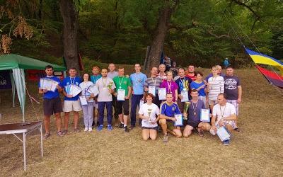 Для вчителів Тернопілля провели змагання зі спортивного туризму
