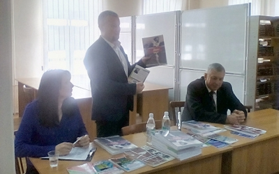 У Тернополі презентували книгу про становлення та розвиток легкої атлетики Тернопільщини