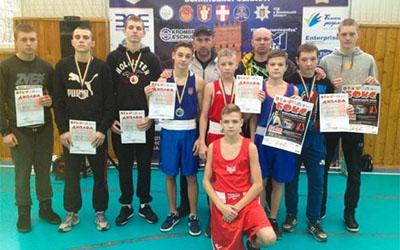 У тернополян – медалі Міжнародного турніру з боксу