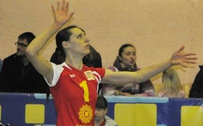 Після перерви у півтори року тернопільська волейболістка знову у грі (ВІДЕО)