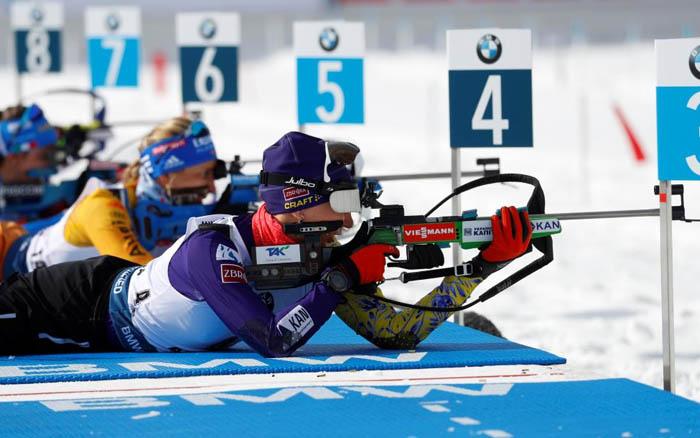 Олена Підгрушна фінішувала тринадцятою в персьюті на Чемпіонаті світу