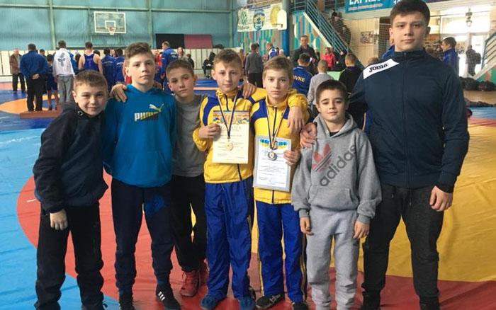 Тернопільські борці стали призерами Всеукраїнського турніру з греко-римської боротьби