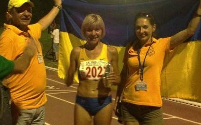 Легкоатлетка Віра Зозуля стала переможцем ветеранського чемпіонату України