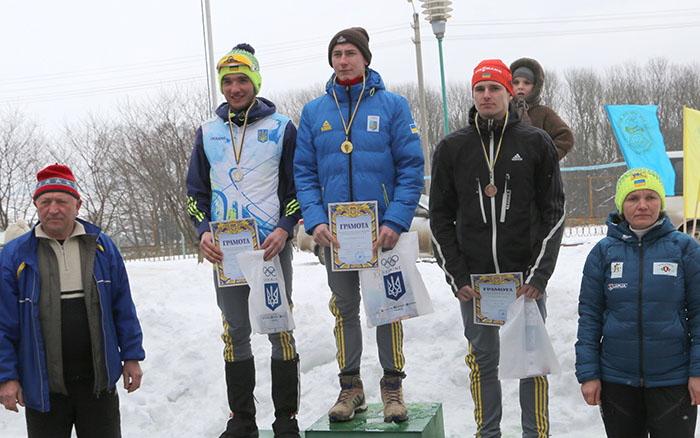 Меркушина та Підгрушний перемагали на чемпіонаті Тернопільської області з біатлону