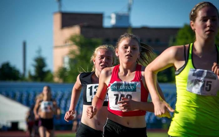 Юні легкоатлети з Тернопільщини завоювали двіі меделі на Чемпіонаті України