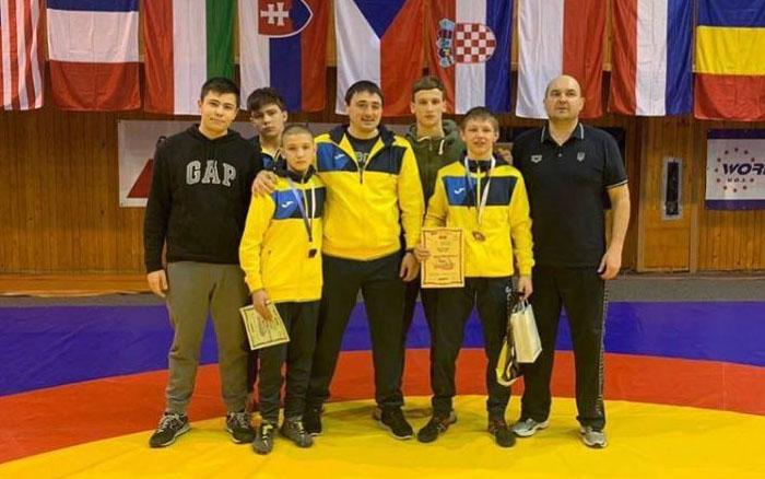 Двоє борців уславили Тернопілля на масштабних змаганнях у Чехії
